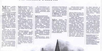 Iltasanomat 14.8.1999