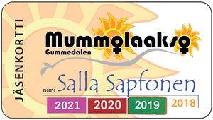 jäsenkortti Salla Sapfonen